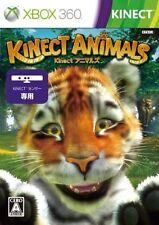 USED Kinect Animals Japan Import Xbox 360