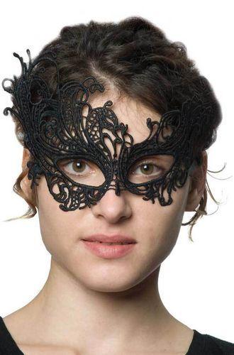 Veneziane punte maschera STARLETT punta maschera asimmetrica