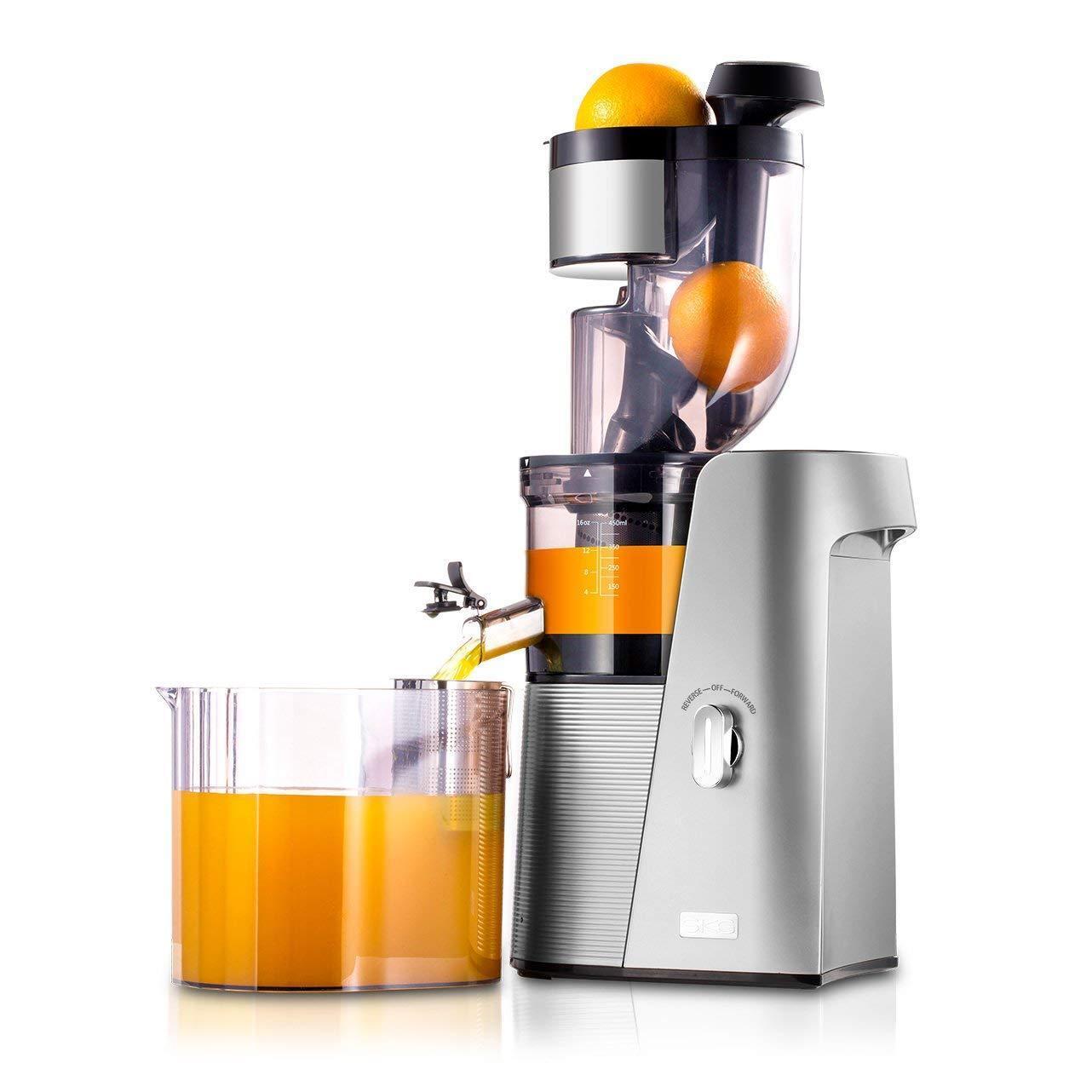 Exprimidor de jugos de alto rendimiento extractor de jugos, fruta y verdura