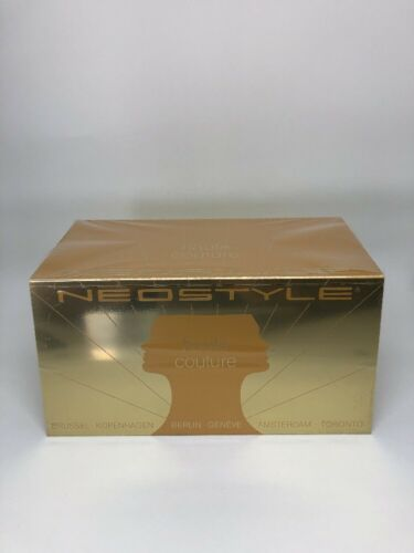 New Neostyle DISPLAY LOGO PLAQUE Gold Metal Steel w// Gold Neostyle LOGO