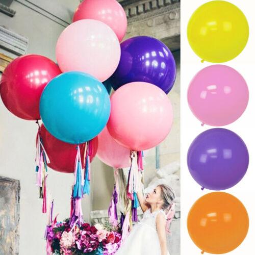 36 '' große Größe Riesen Latex Ballon Helium Wasserstoff Hochzeitsfeier Dekor