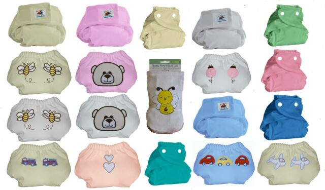 Flat Certified Oeko-Tex Organic Cotton Cloth Diapers GERBER Baby Unisex 10-Pk