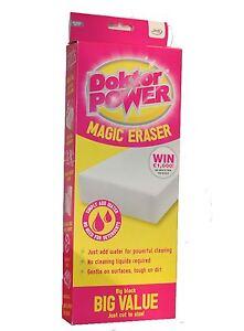 Amical Jml Doktor Power Effaceur Magique Big Valeur Tout Purpose Cleaner Bloc-afficher Le Titre D'origine Haute Qualité