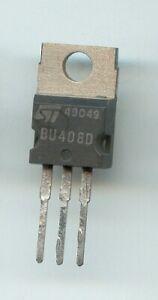 Lot de 2 Transistor BU408D BU408 D