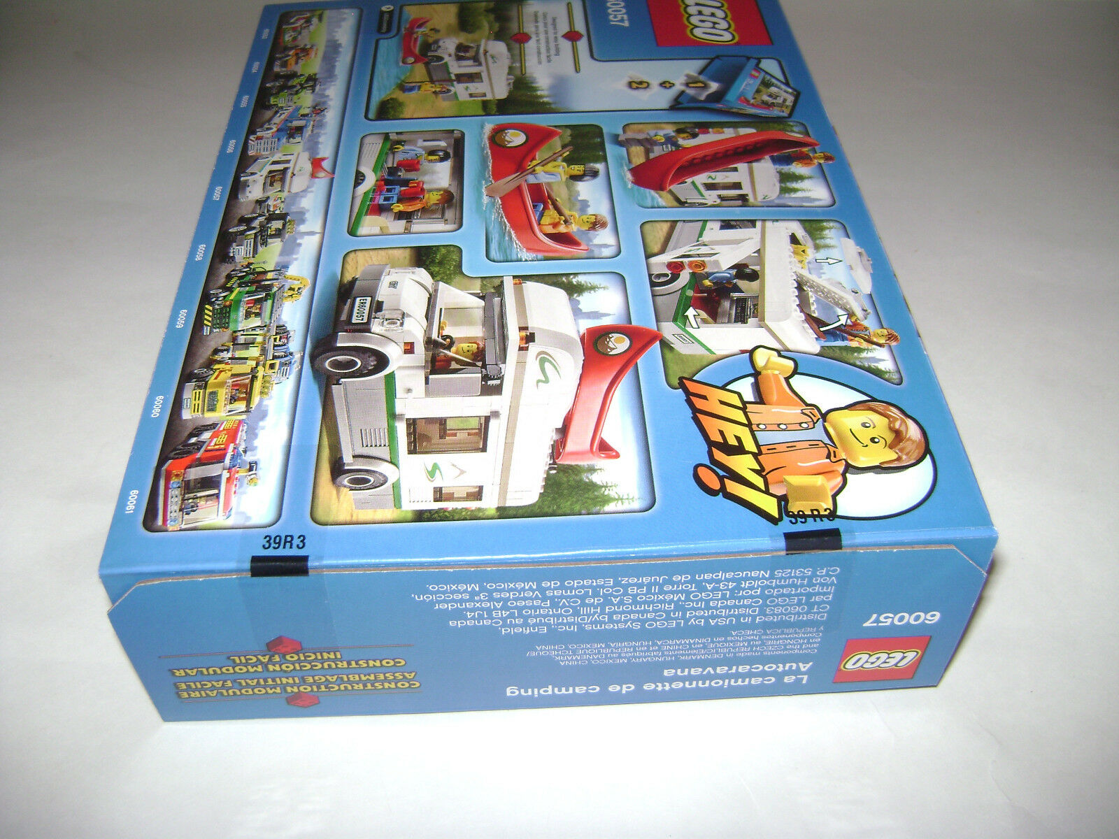 NEW 60057 Lego CITY Camper Van Building Toy SEALED BOX BOX BOX RETIRED RARE A 7e1b30
