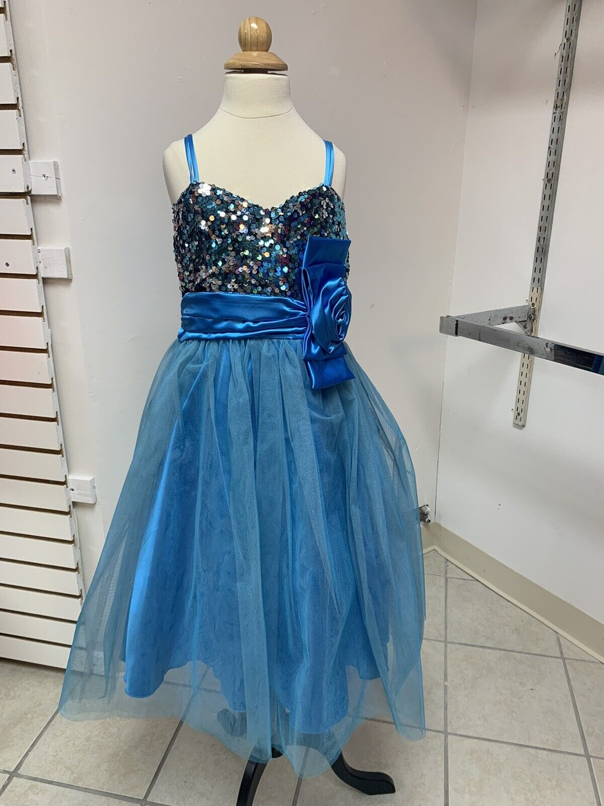 12 Easter Pageant Crowning Tea Party Flowergirl Special Occasion Dance Dress NWT