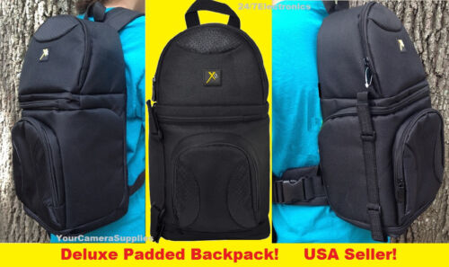 DELUXE SLING BACKPACK CASE to/> BRIDGE CAMERA D7100 D7000 D7300 D5300 D5100 D5200