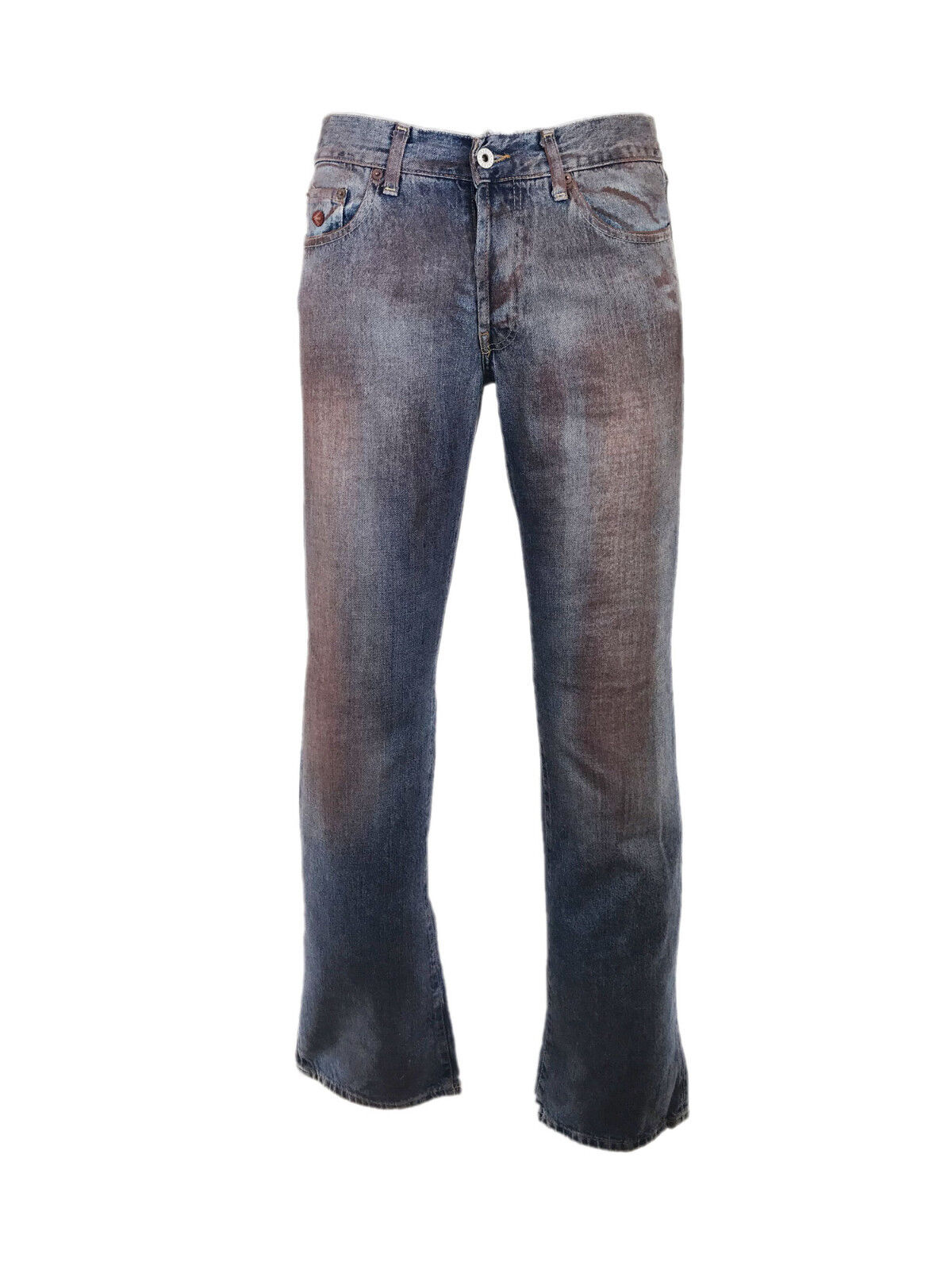 Energie Straight Morris Vintage Flares Jeans with Beautiful Red-ish Wash Dye