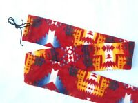 Tradition Archery Recurve Bow Sock Sioux Indian Print Polyester Fleece Soft Case