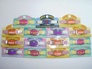 GIRLS-LACE-MATES-S-to-Z-FOR-SHOELACES-FREE-UK-POSTAGE