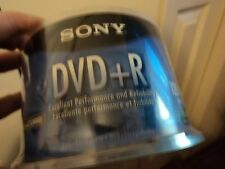 Sony DVD+R 50 Pack Blank Discs with cases NEW.  120 min.  4.7GB/GO  Accucore
