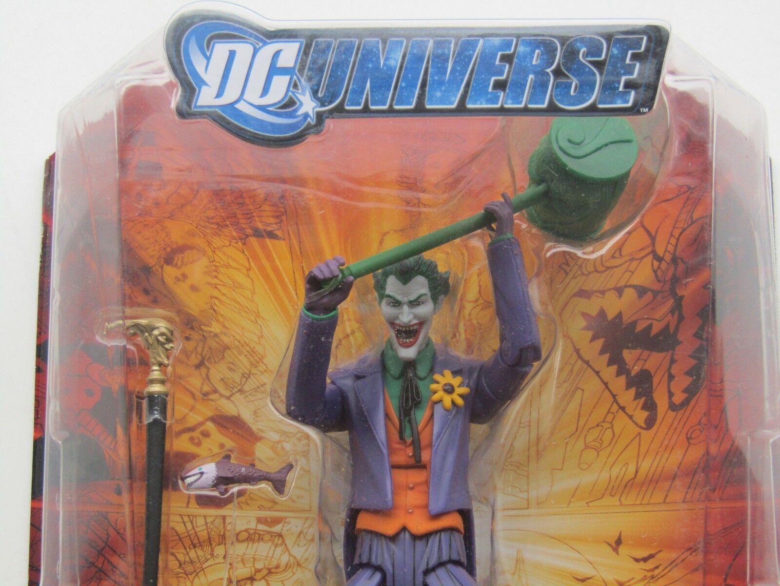 Mattel DCU Detective comics  Universe Classics Classics Joker imperex  distribution globale