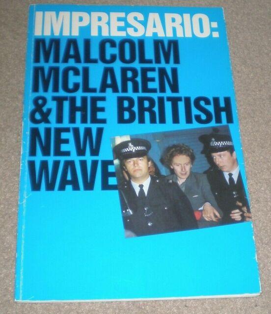 Impresario MALCOLM McLAREN & The British New Wave 1988 BOOK RARE 80's Music
