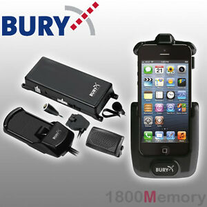 Bury-S8-System-8-Bluetooth-Hands-Free-Cradle-Car-Kit-for-Apple-iPhone-5-5S-SE