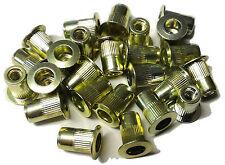Rivet Nuts 6 32 Steel 25pc Buy 3 Or More 10 Rebate Rivnut Riv Nut Nutsert