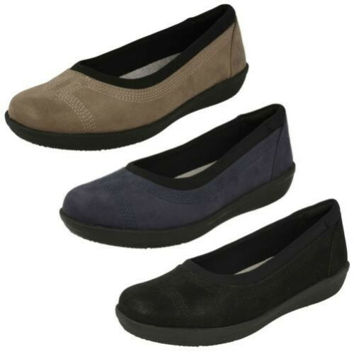 Steppers Mocasín Ayla Zapatos Mujer Clarks Planos Bajo Nube 7XwqwHPE
