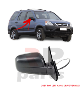 FOR-HONDA-CR-V-2002-2006-NEW-WING-MIRROR-ELECTRIC-BLACK-RIGHT-LHD-76200S9AK01