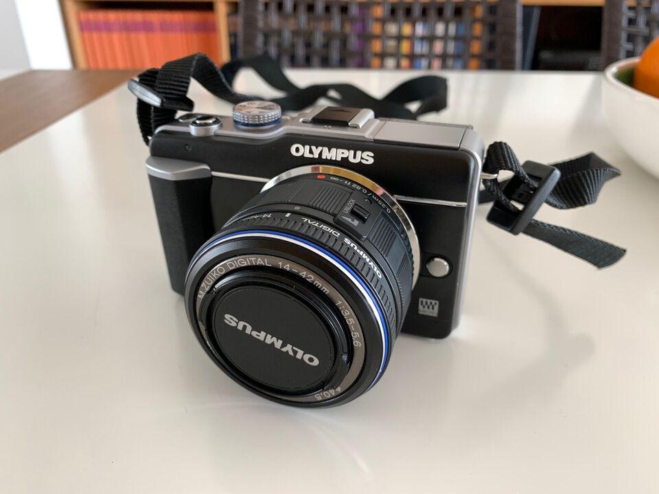 Olympus E-PL1, 12.3 megapixels, Perfekt