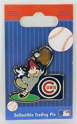 MICKEY MOUSE CHICAGO CUBS DISNEY COLLECTOR LIMITED EDITION PIN