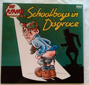 "THE KINKS ⚠️Neuwertig 1975/80(?)-12""LP-Schoolboys in Disgrace- RCA 83749-Germany"