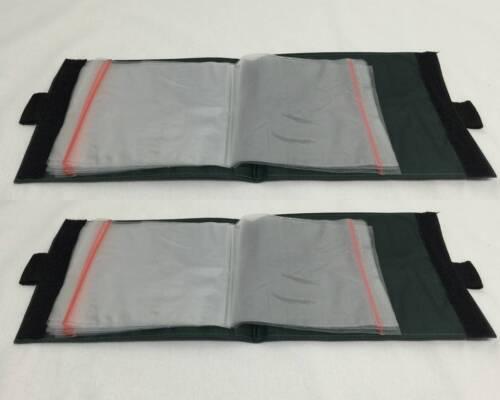 10 x 15 nouvelle poche de la pêche maritime stockage portefeuilles rig plage de la mer de l\'équipement de pêche