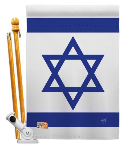 Israel Nationality middle east hebrew western wall  Garden Hosue Yard Flag