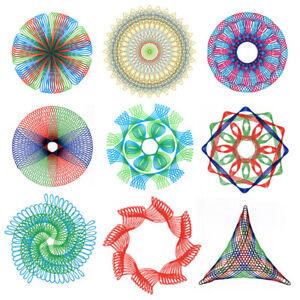 27x-DIY-Plastic-Original-Spirograph-Ruler-Set-Design-Draw-Kid-Art-Craft-Create