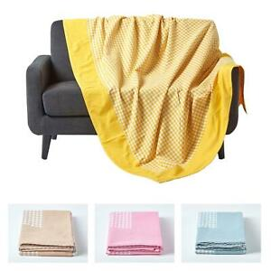 Cotton Sofa Throw Bed Covers Settee