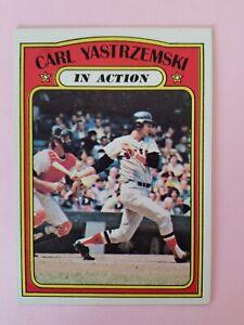 1972 Topps #38 Carl Yastrzemski NM Boston Red Sox Baseball Card HOF