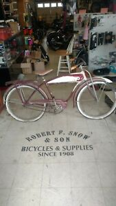 "Schwinn BF Goodrich Cruiser 26"" Mens Chicago Built 1952"