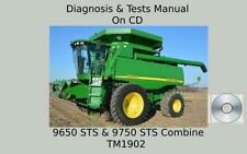 John Deere 9650 Sts Amp 9750 Sts Combine Diagnosis Tests Technical Manual Tm1902