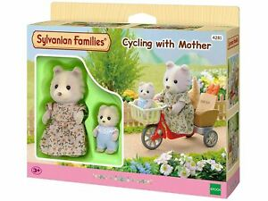 SYLVANIAN FAMILIES - CYCLING WITH MOTHER TOY