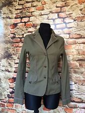 GINA BENOTTI WOMEN'S JACKET ARMY GREEN SIZE S NEW