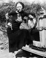 8x10 Photo: Bonnie Parker, Infamous Gangster Outlaw Of bonnie And Clyde