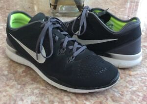 84bcb723723b Nike Free 5.0 TR Fit Women s Black Running Training Shoes Size 9.5 ...
