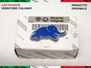 STEMMA-LOGO-LANCIA-YPSILON-Y-ELEFANTINO-BLU-laterale-ORIGINALE-emblem-badge
