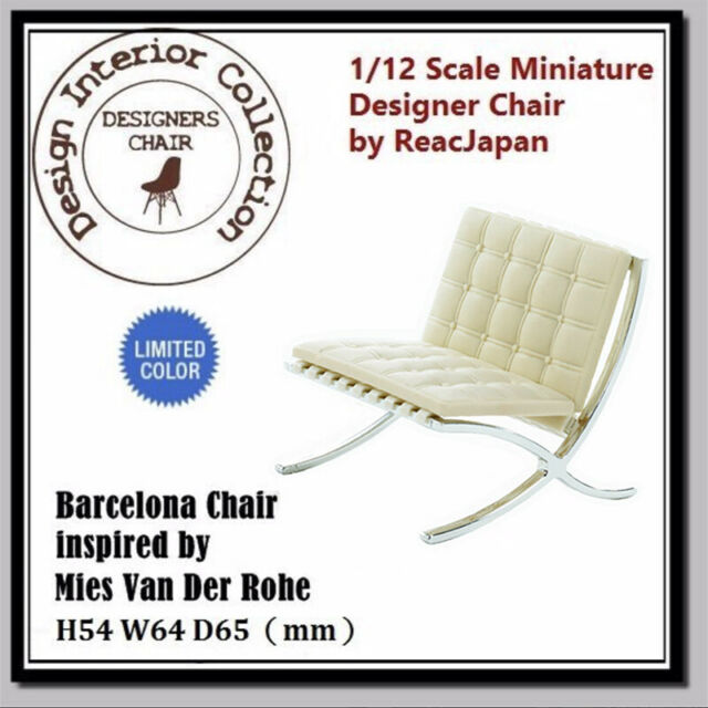 Dollhouse 1//12  Miniature Interior Designer Chair Collection CP01