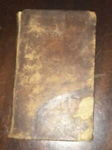 1819-The-English-Reader-Lindley-Murray-Antique-book-Boston-edition-leather