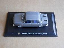 Leo Models CAR DIE CAST 1:43 NEW - ABARTH SIMCA 1150 CORSA 1963  [MV-8 ]