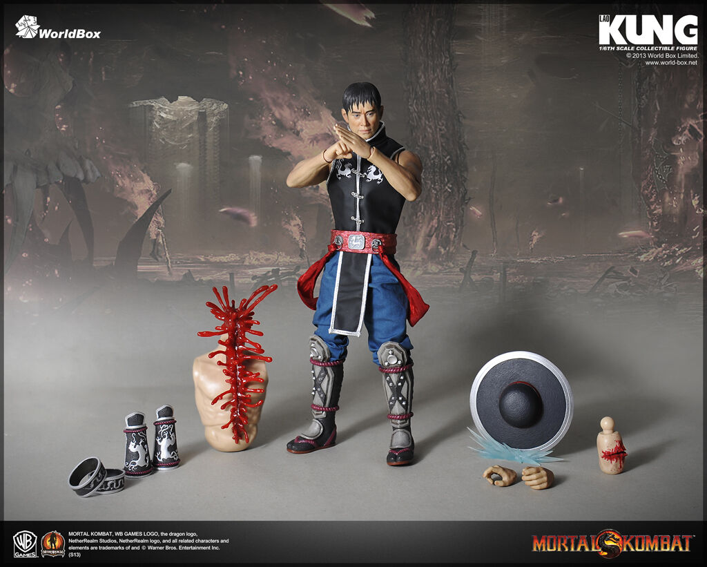 WORLD BOX MORTAL KOMBAT KUNG LAO 1 6 scale action figure doll videogame
