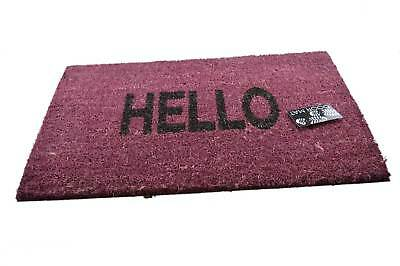 """""""buongiorno"""" Porta Elegante Di Cocco Tappetino Ingresso Indoor All'aperto Doormats Alta Qualità-mostra Il Titolo Originale"""