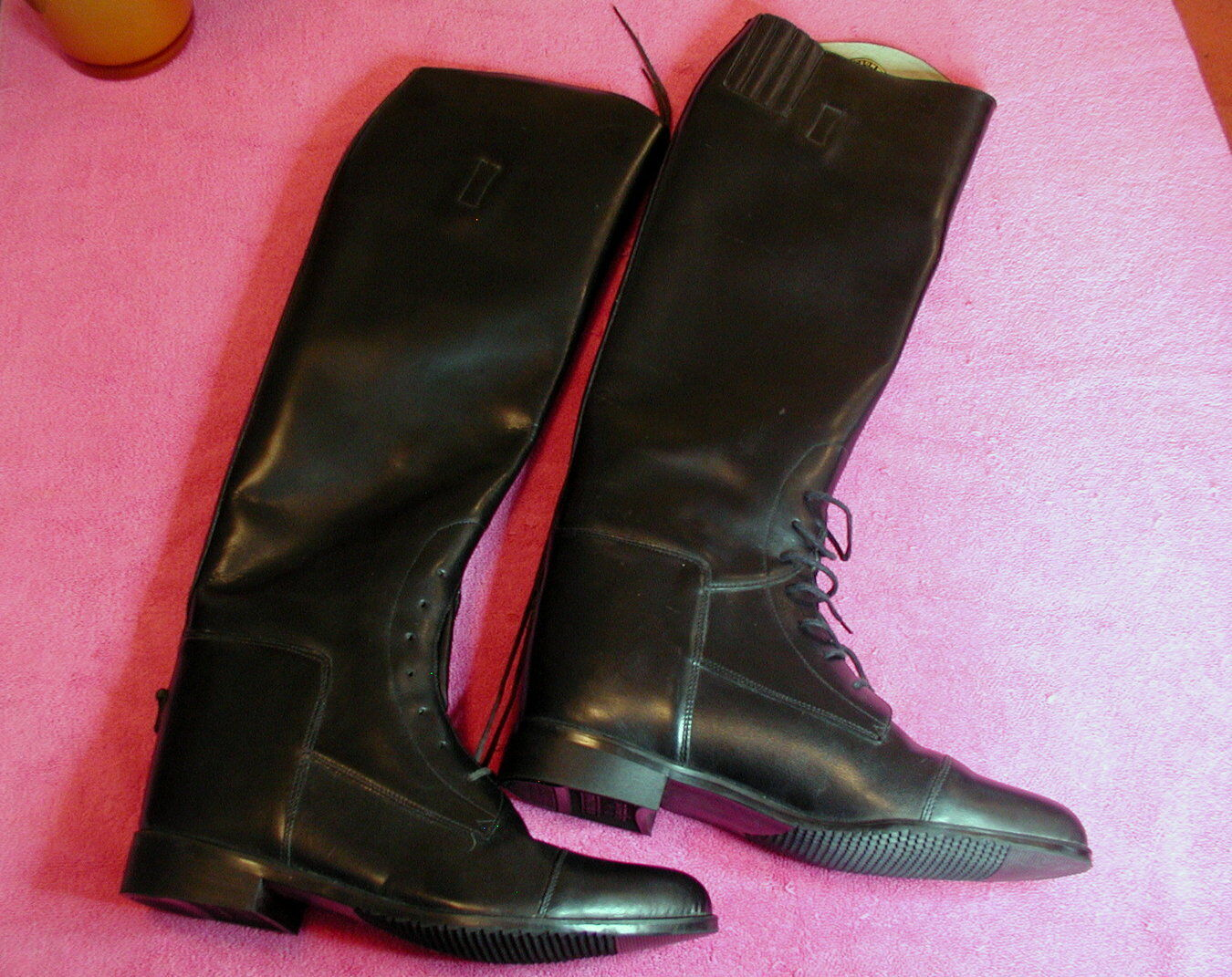 Colt Cromwell 19  RIDING BOOTS Size 9S Spurs included