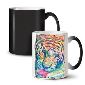 Tiger Psychedelic NEW Colour Changing Tea Coffee Mug 11 oz | Wellcoda