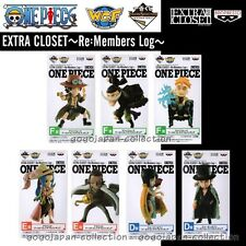ONE PIECE WCF World Collectable Figure EXTRA CLOSET Re:Members Log 7Figures set