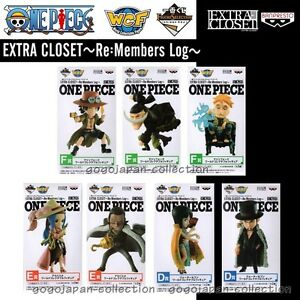 Image Is Loading ONE PIECE WCF World Collectable Figure EXTRA CLOSET