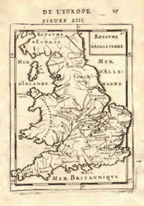 Map Of England Counties And Towns.Details About England Counties Towns Rivers Royaume D Angleterre Mallet 1683 Old Map
