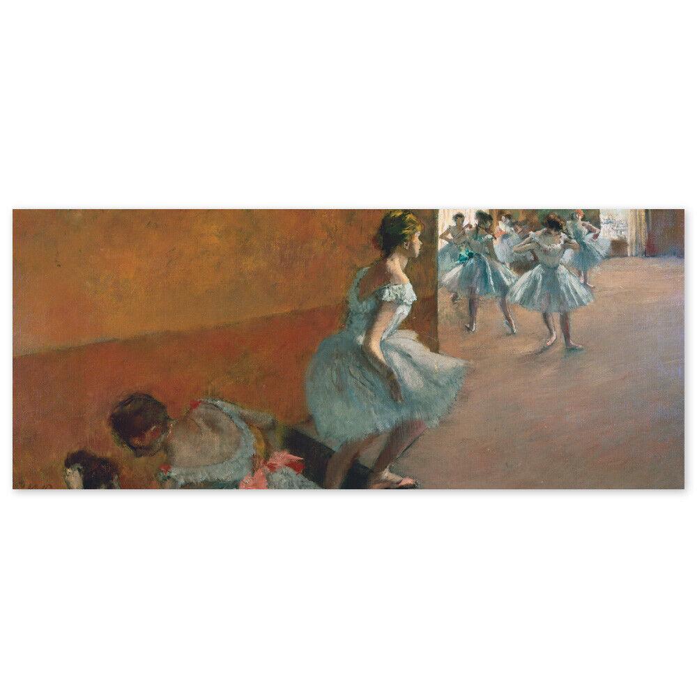 Edgar Degas, Tänzerinnen die Treppe hinaufsteigend, Poster