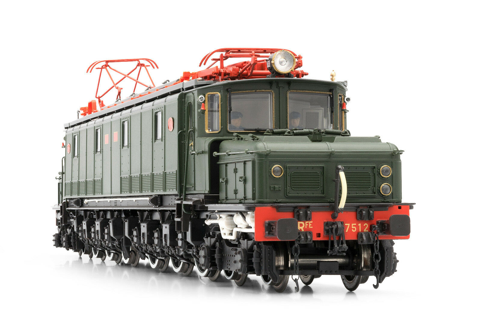 ELECTrossoREN e3026s elektrolokomotive LOCOMOTORA Electrica RENFE 7512 DCC + Sound
