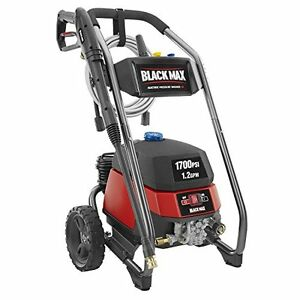 Black max 1 700 psi 1 2 gpm electric high power pressure for Wrap master model 1500