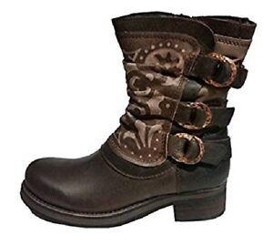 felmini stivali donna marrone  Felmini Donna mixico marrone in pelle di prima qualità stivali | eBay